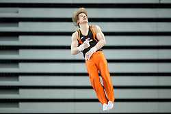 03-04-2015 SLO: World Challenge Cup Gymnastics, Ljubljana<br /> Epke Zonderland of Netherlands competes in the Horizontal Bar during Qualifications of Artistic Gymnastics World Challenge Cup Ljubljana, on April 3, 2015 in Arena Stozice, Ljubljana, Slovenia. Photo by Vid Ponikvar / RHF Agency