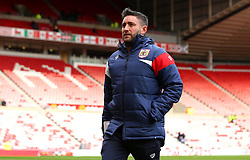 Bristol City head coach Lee Johnson - Mandatory by-line: Robbie Stephenson/JMP - 28/10/2017 - FOOTBALL - Stadium of Light - Sunderland, England - Sunderland v Bristol City - Sky Bet Championship