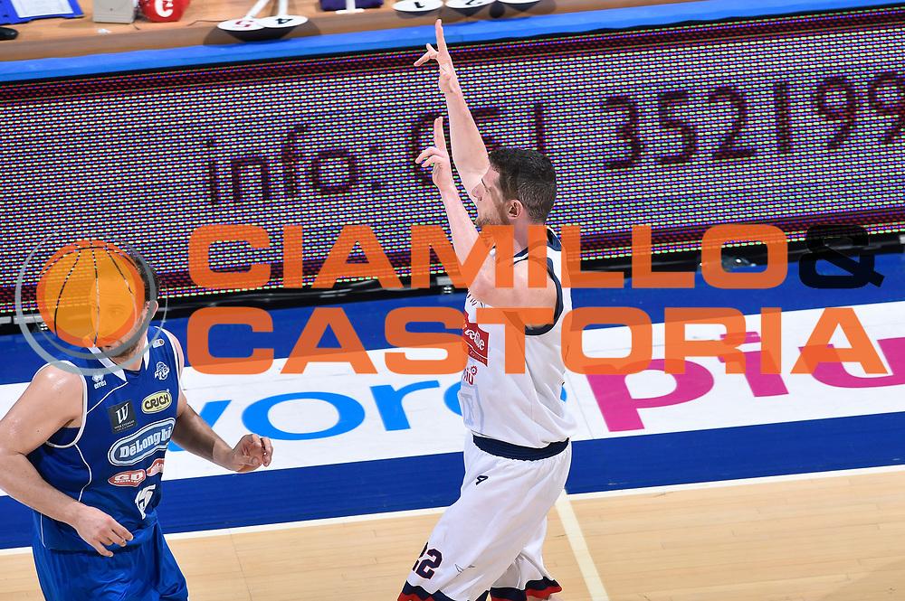 DESCRIZIONE : LNP Playoff Serie A2 Citroen 2015- 2016 Semifinale Gara 3 Eternedile Bologna - De Longhi Treviso<br /> GIOCATORE : Valerio Amoroso<br /> CATEGORIA : esultanza<br /> SQUADRA : Eternedile Bologna<br /> EVENTO : LNP Playoff Serie A2 Citroen 2015- 2016<br /> GARA : Playoff Semifinale Gara 3 Eternedile Bologna - De Longhi Treviso<br /> DATA : 04/06/2016<br /> SPORT : Pallacanestro <br /> AUTORE : Agenzia Ciamillo-Castoria/Max.Ceretti
