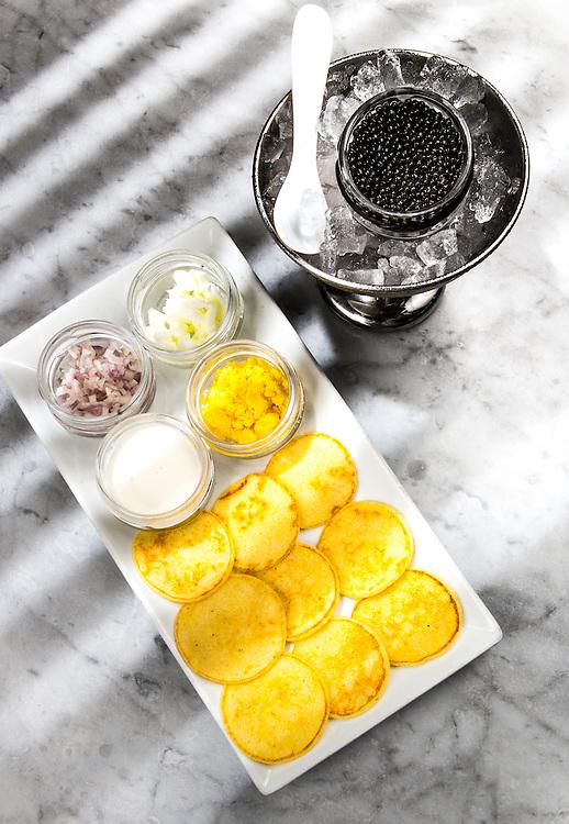 Caviar at Mignonette in Miami