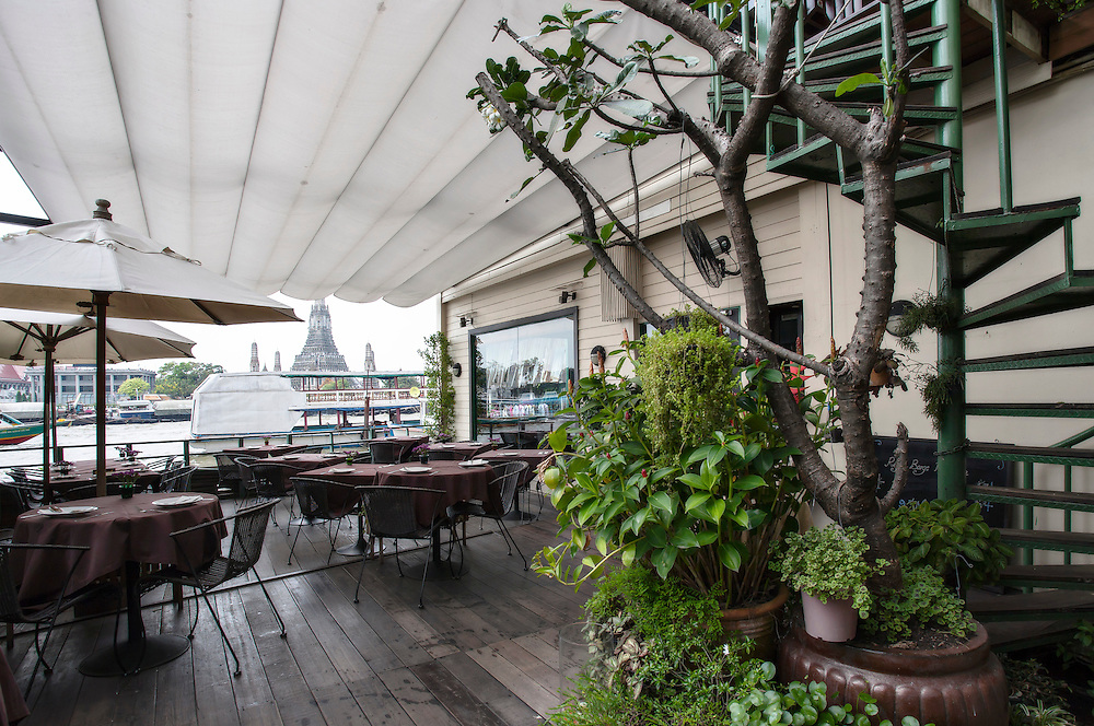 The Deck by the River, Arun Residence, Bangkok, Thailand