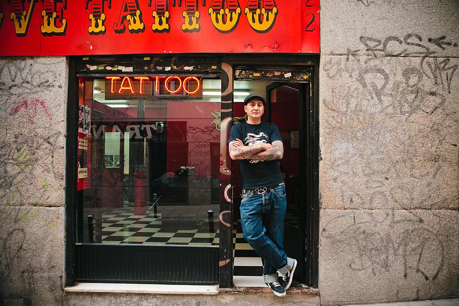 True Love Tatoo es una de las casas especializadas en tatuajes que se puede encontrar en el barrio.