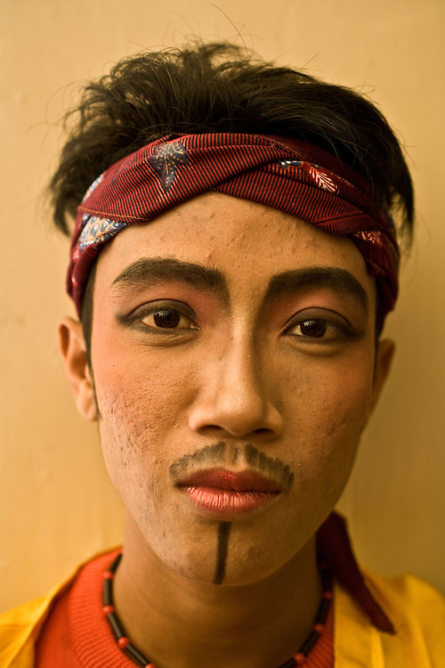 Where: Jakarta, Indonesia. A local dancer ready for the show.