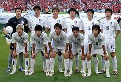 23-06-2006 VOETBAL: FIFA WORLD CUP: ZWITSERLAND - ZUID KOREA: HANNOVER <br /> Korea wordt met 2-0 verslagen door Zwitserland en is uitgeschakeld / Korea<br /> ©2006-WWW.FOTOHOOGENDOORN.NL