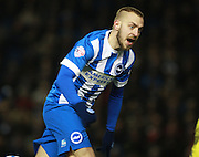 Brighton striker Jiri Skalak during the Sky Bet Championship match between Brighton and Hove Albion and Leeds United at the American Express Community Stadium, Brighton and Hove, England on 29 February 2016. Photo by Bennett Dean.