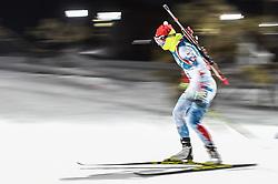 February 12, 2018 - Pyeongchang, Gangwon, South Korea - Veronika Vitkova ofCzech Republic competing at Women's 10km Pursuit, Biathlon, at olympics at Alpensia biathlon stadium, Pyeongchang, South Korea. on February 12, 2018. (Credit Image: © Ulrik Pedersen/NurPhoto via ZUMA Press)