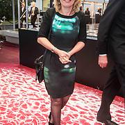 NLD/Amsterdam/20140508 - Wereldpremiere Musical Anne Minister Jet Bussemaker