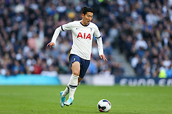 Son Heung-Min of Tottenham Hotspur on the ball - Mandatory by-line: Arron Gent/JMP - 19/10/2019 - FOOTBALL - Tottenham Hotspur Stadium - London, England - Tottenham Hotspur v Watford - Premier League