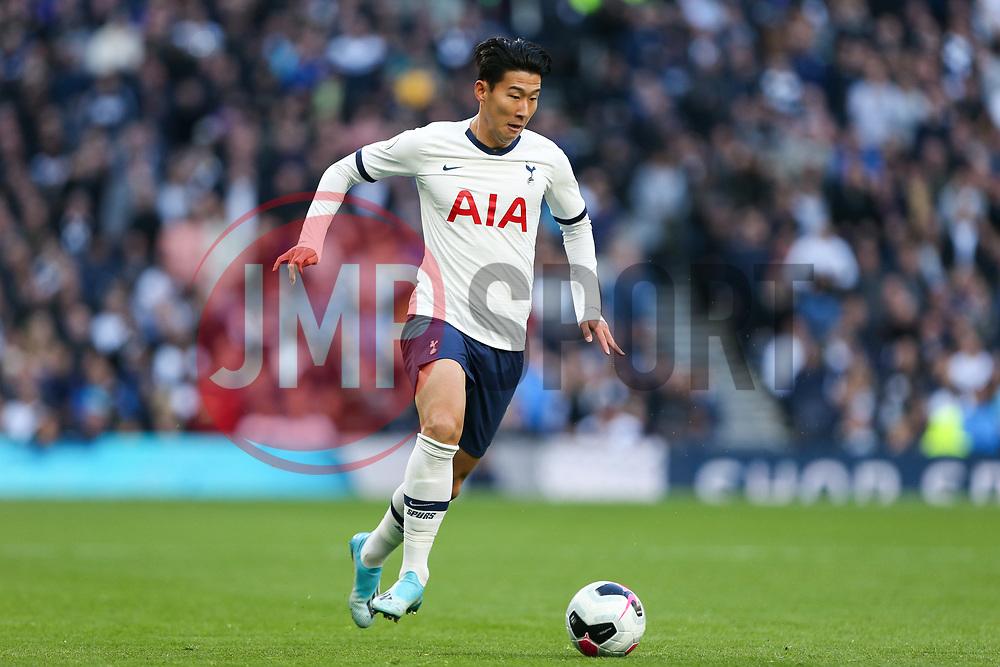 Son Heung-Min of Tottenham Hotspur on the ball - Mandatory by-line: Arron Gent/JMP - 19/10/2019 - FOOTBALL - Tottenham Hotspur Stadium - London, England - Tottenham Hotspur v Watford - Premier League