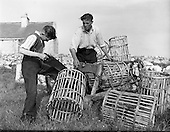 1959 - 14/05 Boat Building with the Flaherty family at Carna