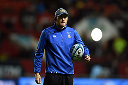 Bath Rugby first team coach Girvan Dempsey looks on during the pre-match warm-up - Mandatory byline: Patrick Khachfe/JMP - 07966 386802 - 18/10/2019 - RUGBY UNION - Ashton Gate Stadium - Bristol, England - Bristol Bears v Bath Rugby - Gallagher Premiership