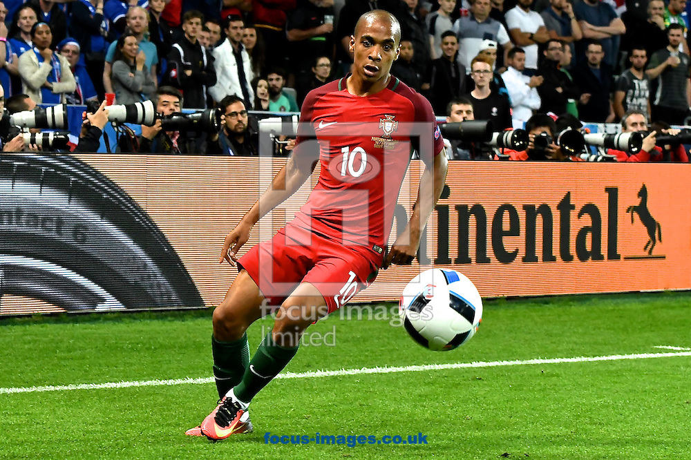 Jo&atilde;o M&aacute;rio of Portugal during the UEFA Euro 2016 match at Stade Geoffroy-Guichard, Saint-&Eacute;tienne, France<br /> Picture by Kristian Kane/Focus Images Ltd 07814482222<br /> 14/06/2016