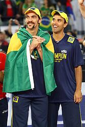 BRASILE - CUBA<br /> FINALE CAMPIONATI MONDIALI VOLLEY MASCHILE 2010<br /> ROMA 10-10-2010<br /> FOTO FILIPPO RUBIN