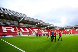 Bristol City arrive at Rotherham United - Mandatory by-line: Robbie Stephenson/JMP - 03/10/2018 - FOOTBALL - Aesseal New York Stadium - Rotherham, England - Rotherham United v Bristol City - Sky Bet Championship