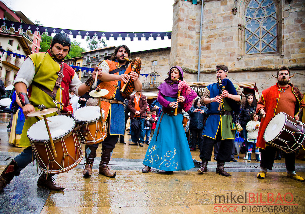 Medieval Fair. Balmaseda. Biscay. Basque Country. Spain