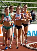 Friidrett<br /> Europacup kvinner<br /> 23.06.2007<br /> Foto: Hasse Sjøgren, Digitalsport<br /> <br /> Silje Fjørtoft i aksjon på 3000 meter