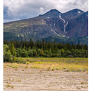 Yukon Mountains Triptych