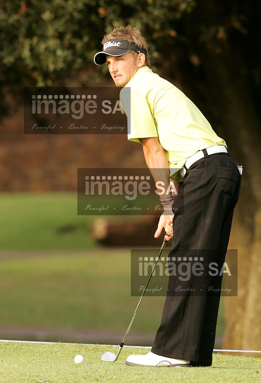 Bearing Man Highveld Classic| JB'e Kruger leads| Day2 of the Bearing Man Highveld Classic being held at the Witbank Golf Club in Witbank, Mpumalanga Province- JB'e Kruger from Kimberley leads after Day 2 with a total of 9 under par.
