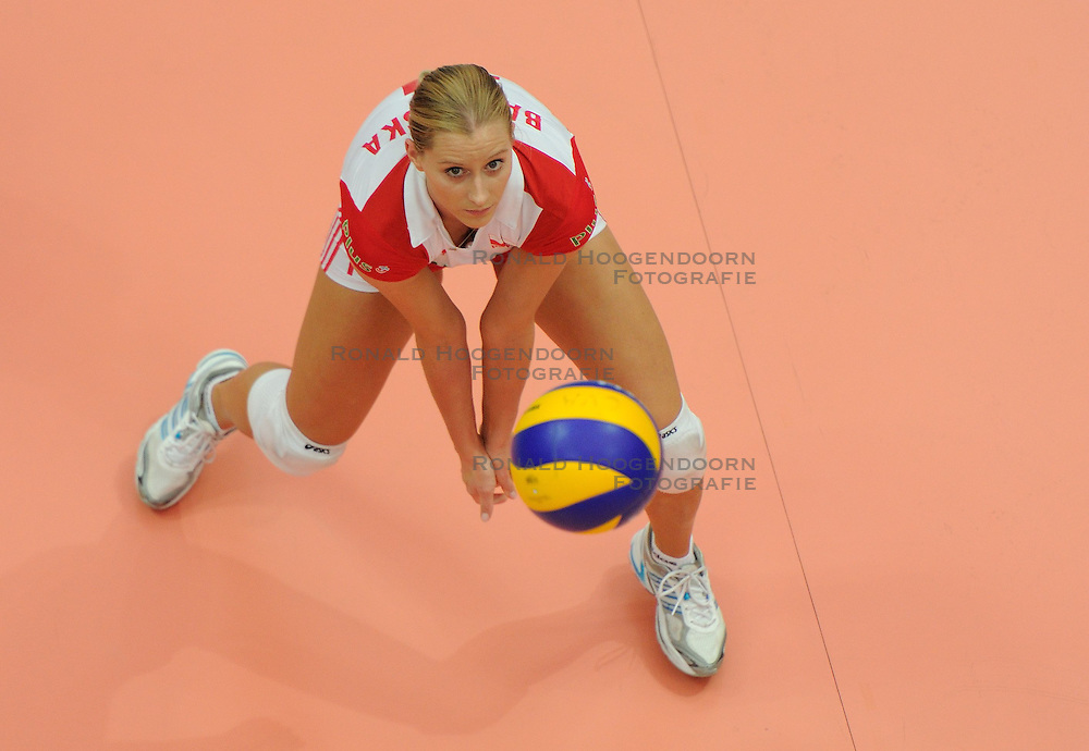 25-08-2010 VOLLEYBAL: WGP FINAL USA - POLAND: BEILUN NINGBO<br /> Anna Baranska<br /> &copy;2010-WWW.FOTOHOOGENDOORN.NL