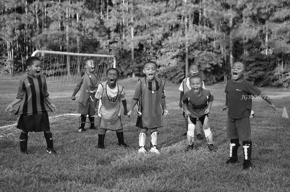 Tiger Soccer Club Practice Photos.<br /> Guardians U6.  Fall 2014