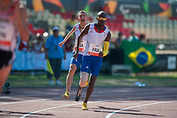 , FRA, 4x100m Relay, T42-46, 2013 IPC Athletics World Championships, Lyon, France