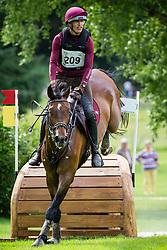 Vervaecke Kris, BEL, Guatanamo van Alsingen<br /> CIC2* Royal Jump de Berticheres 2017<br /> © Hippo Foto - Eric Knoll<br /> 04/06/17