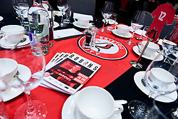 General views of the Lansdown Restaurant with Prostate Cancer brochures on display - Mandatory by-line: Ryan Hiscott/JMP - 22/02/2020 - FOOTBALL - Ashton Gate - Bristol, England - Bristol City v West Bromwich Albion - Sky Bet Championship