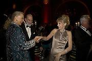 PRINCE AND PRINCESS MICHAEL OF KENT AND ARIELLE DOMBASLE, Cartier Dinner to celebrate the re-opening of the Cartier U.K. flagship store, New Bond St. Natural History Museum. 17 October 2007. -DO NOT ARCHIVE-© Copyright Photograph by Dafydd Jones. 248 Clapham Rd. London SW9 0PZ. Tel 0207 820 0771. www.dafjones.com.