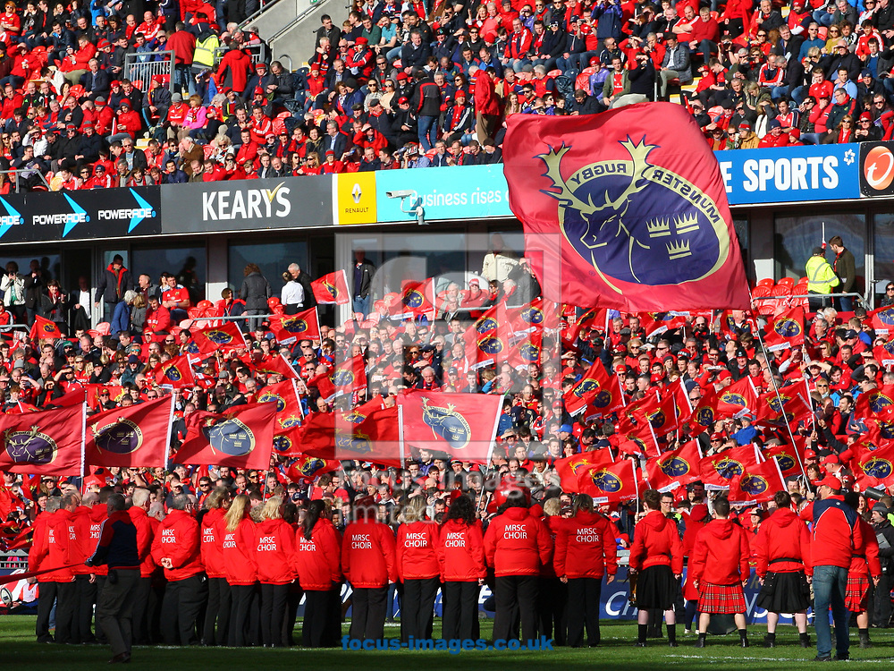 General View of Thomond Park before the start of the European Rugby Champions Cup match at Thomond Park, Limerick<br /> Picture by Yannis Halas/Focus Images Ltd +353 8725 82019<br /> 01/04/2017