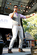 Eric Benet performs at the 4th Annual Central Park SummerStage R&B Fest at Rumsey Playfield on August 12, 2012.