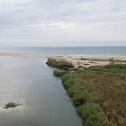 Aerial view of San Jose Estuary. San Jose del Cabo, BCS.