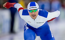 10-12-2016 NED: ISU World Cup Speed Skating, Heerenveen<br /> 1500 m men / Denis Yuskov RUS