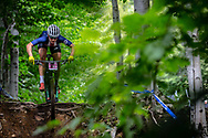 URBAN Kelsey (USA) at the Women's U23 2019 Mountain Bike Cross Country World Championships in Mont-Sainte-Anne, Canada.