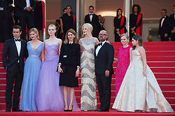'The Beguiled' Red Carpet Arrivals - The 70th Annual Cannes Film Festival. 24 May 2017 Pictured: Angourie Rice, Colin Farrell, Nicole Kidman, director Sofia Coppola, Kirsten Dunst, Elle Fanning and Addison Riecke. Photo credit: Daniele Cifalà / MEGA TheMegaAgency.com +1 888 505 6342