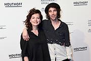 Premiere van Gurre-Lieder in de Nationale Opera & Ballet / Premiere of Gurre-Lieder in the National Opera & Ballet.<br /> <br /> Op de foto / On the photo:  Nyncke Beekhuyzen en partner Bart Rijnink
