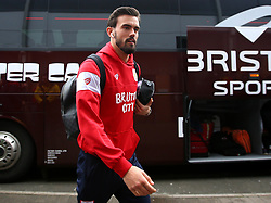 Marlon Pack of Bristol City arrives at The Pirelli Stadium for the Sky Bet Championship match with Burton Albion - Mandatory by-line: Robbie Stephenson/JMP - 10/03/2018 - FOOTBALL - Pirelli Stadium - Burton upon Trent, England - Burton Albion v Bristol City - Sky Bet Championship
