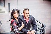 Daniela & Frank's Distillery District Engagement Session