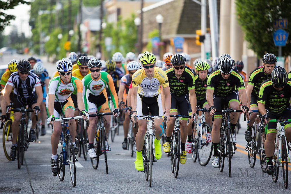 2013 Bob Riccio Memorial Tour De Pitman - 4,5 Race in Pitman, NJ on Saturday June 8, 2013. (photo / Mat Boyle)