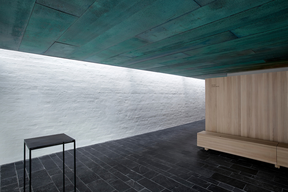 Pyhän Laurin kappeli -  St Lawrence funeral chapel in Vantaa, Finland designed by Avanto Architects.