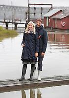 FET, 20150916: Kronprins Haakon og Kronprinsesse Mette-Marit besøker Fet kommune og lensemuesset og våtmarksområdet der. FOTO: TOM HANSEN