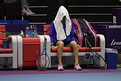 January 30, 2018 - St.Petersburg, Russia - Russian Federation. Saint-Petersburg. SIBUR-Arena. Tennis. Tennis tournament. Tennis tournament WTA St.Petersburg Ladies Trophy 2018. Women. (Credit Image: © Russian Look via ZUMA Wire)