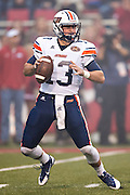 FAYETTEVILLE, AR - OCTOBER 31:  Jarod Neal #13 of the UT Martin Skyhawks drops back to pass during a game against the Arkansas Razorbacks at Razorback Stadium on October 31, 2015 in Fayetteville, Arkansas.  The Razorbacks defeated the Skyhawks 63-28.  (Photo by Wesley Hitt/Getty Images) *** Local Caption *** Jarod Neal