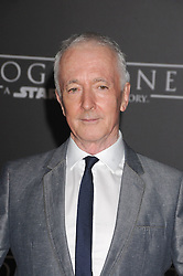 December 10, 2016 - Los Angeles, California, United States - December 10th 2016 - Los Angeles California USA - Actor ANTHONY DANIELS  at the World Premiere for ''Rogue One Star Wars'' held at the Pantages Theater, Hollywood, Los Angeles  CA (Credit Image: © Paul Fenton via ZUMA Wire)