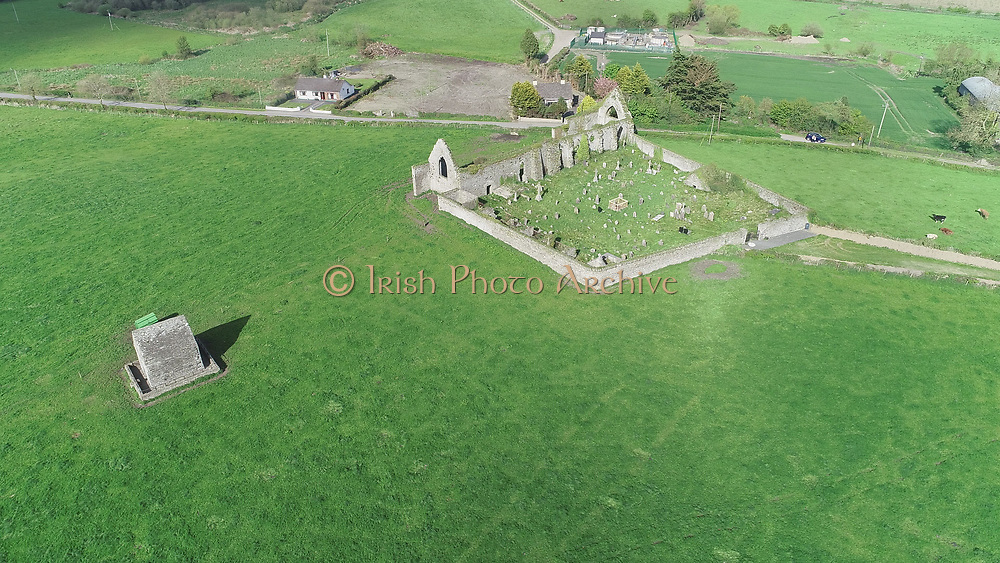 Louth Village Saint Mcochtas church, abbey, credit, union, school, shops, pub, Saint, Machtas, Louth, Village, Church, Abbey, Aerial Images photo aerial photos