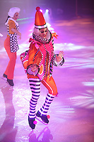 The launch of Royal Caribbean International's Oasis of the Seas, the worlds largest cruise ship..The ice show in Studio B , Frozen in Time
