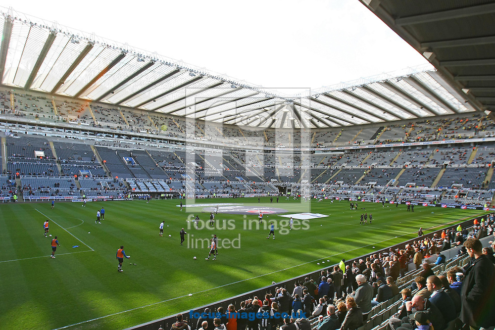 Picture by Paul Chesterton/Focus Images Ltd.  07904 640267.18/03/12.General views of St James' Park Stadium, Newcastle.