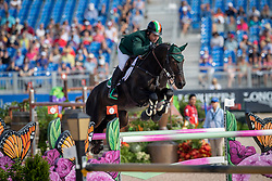 O Connor Cian, IRL, Good Luck<br /> World Equestrian Games - Tryon 2018<br /> © Hippo Foto - Dirk Caremans<br /> 23/09/2018