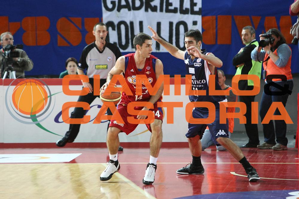 DESCRIZIONE : Roma Lega A1 2008-09 Lottomatica Virtus Roma Angelico Biella<br /> GIOCATORE : Rodrigo De La Fuente<br /> SQUADRA : Lottomatica Virtus Roma <br /> EVENTO : Campionato Lega A1 2008-2009<br /> GARA : Lottomatica Virtus Roma Angelico Biella<br /> DATA : 08/02/2009<br /> CATEGORIA : Palleggio <br /> SPORT : Pallacanestro<br /> AUTORE : Agenzia Ciamillo-Castoria/C.De Massis