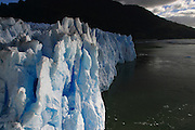 The San Rafael glacier ends its journey in Patagonia, Chile, Feb. 1, 2004. Daniel Beltra/Greenpeace.