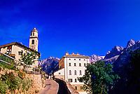 Soglio, Graubünden (Grisons), Switzerland